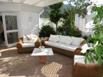 Skøn terrasse