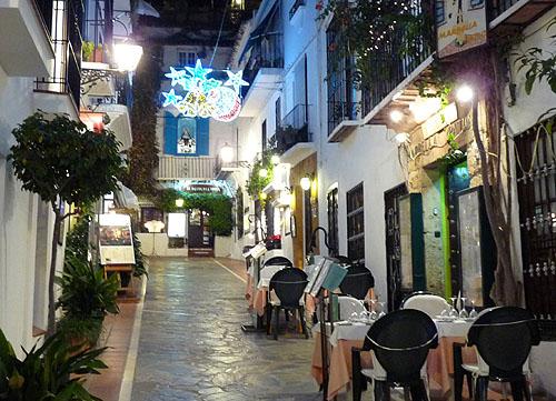Marbella julen 2009